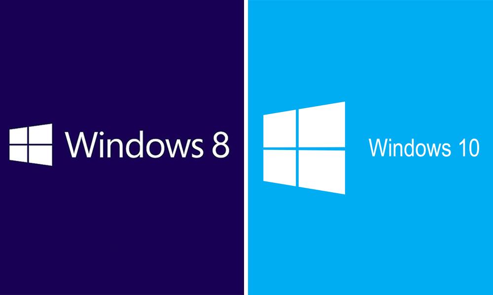 Windows 8 dan Windows 10
