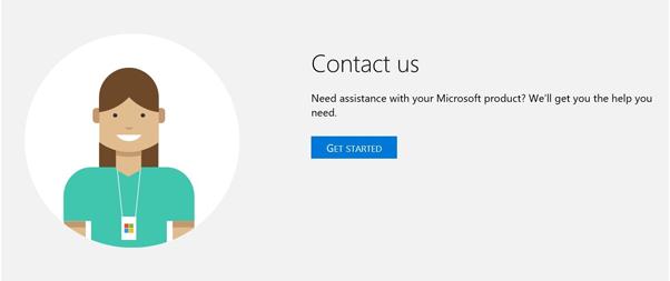 Kontak Microsoft