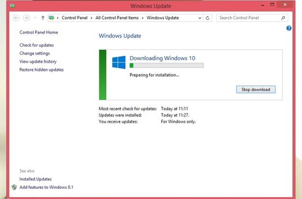 Install Windows 10 Otomatis
