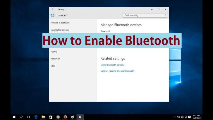 7 Cara Mengaktifkan Bluetooth di Laptop Windows 7 paling Lengkap untuk Semua Jenis
